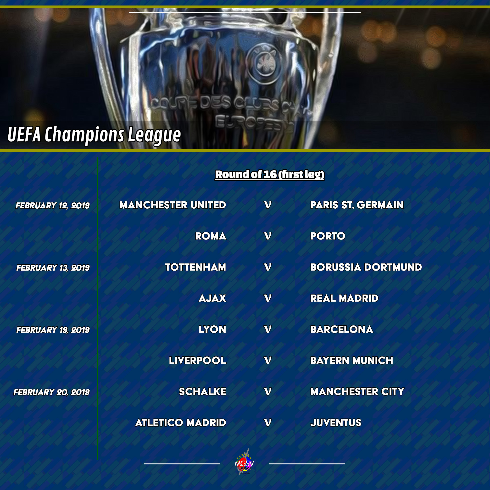 Uefa Champions League Round Of: The Return Of The 2018/19 UEFA Champions League And The